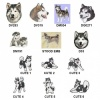 Alaskan Malamute Personalised Luxury Fleece Dog Blankets Bright Stars Design
