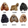 American Cocker Spaniel Personalised Dog Towels Luxury Range - Face Cloth