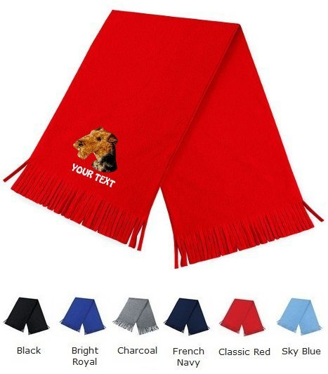 Airedale Terrier Personalised Scarfs