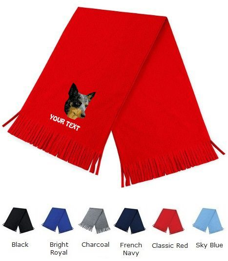 Australian Cattle Dog Personalised Scarfs