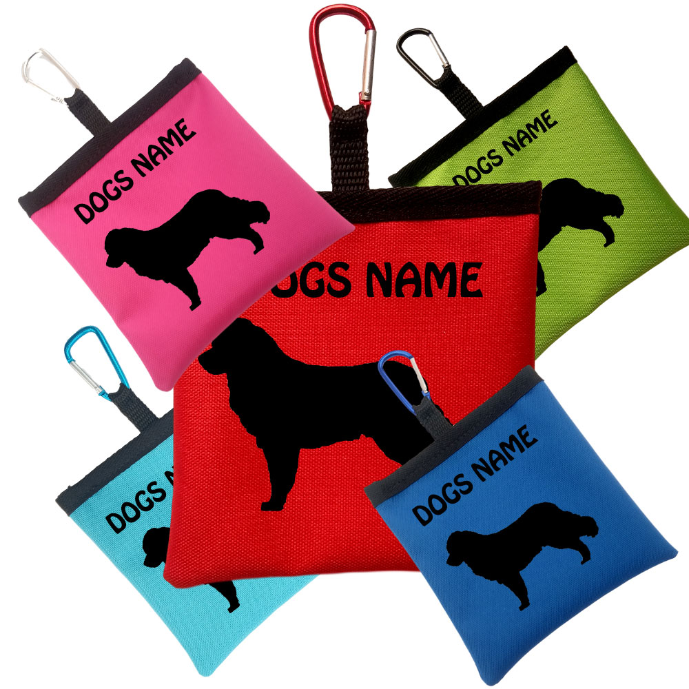 Bernese Mountain Dog Personalised Pooh Bag Holders