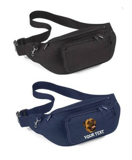 Bullmastiff Personalised Bum Bags