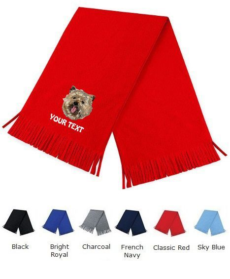 Cairn Terrier Personalised Scarfs