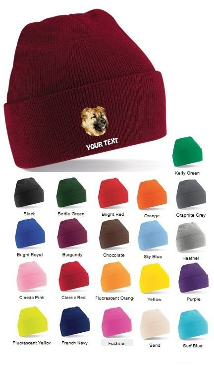 Causcasian Mountain Dog Personalised Winter Hats