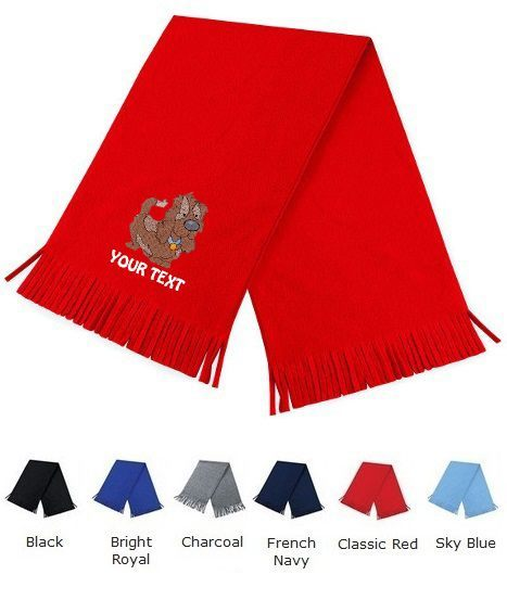 Personalised Scarfs With Cute Dog Designs