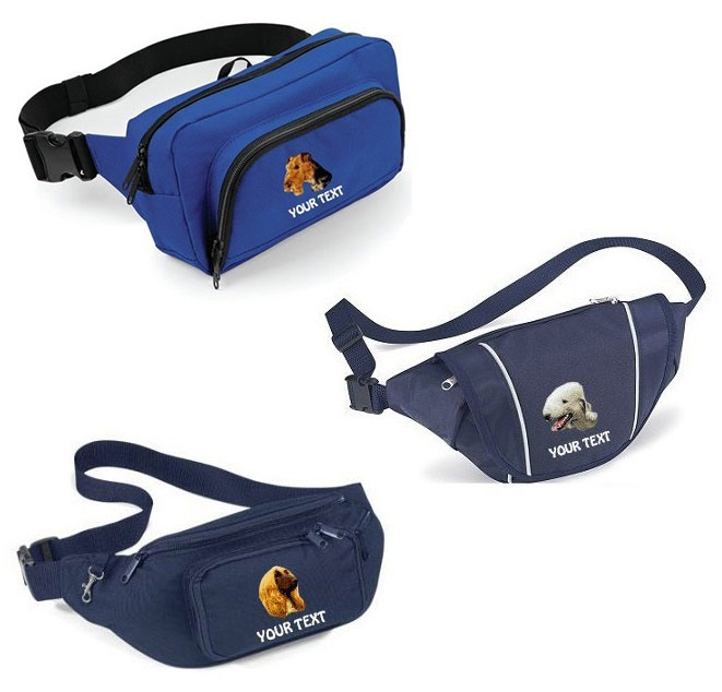 Dog Breed Bumbags