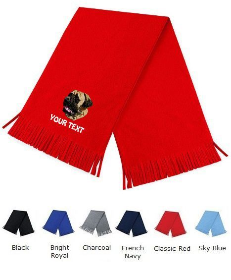 English Mastiff Personalised Scarfs