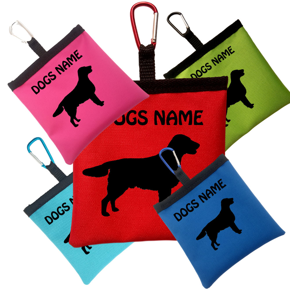 English Springer Spaniel Personalised Pooh Bag Holders