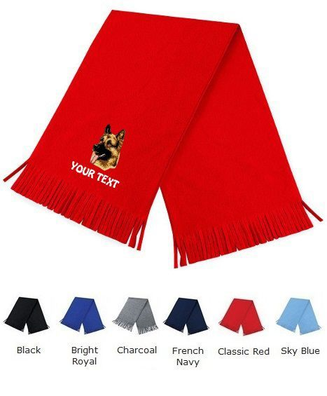 German Shepherd Dog Personalised Scarfs