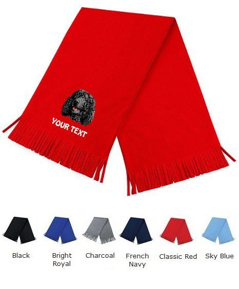 Irish Water Spaniel Personalised Scarfs