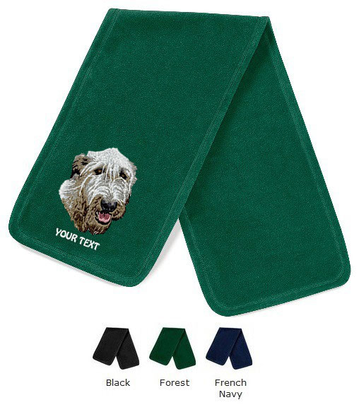 Irish Wolfhound Personalised Scarfs