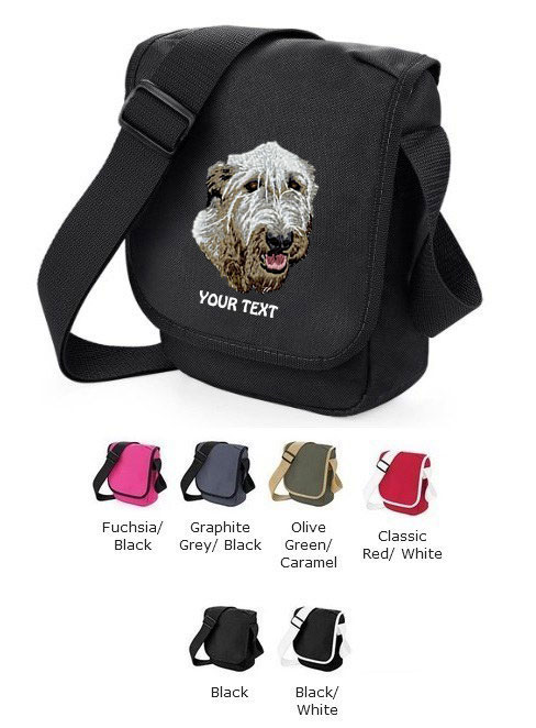 Irish Wolfhound Personalised Bags