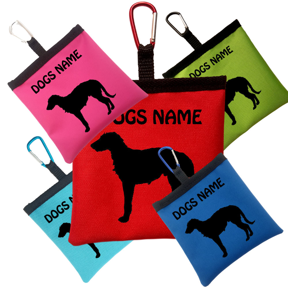 Irish Wolfhound Personalised Pooh Bag Holders