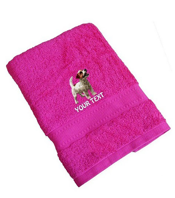 Jack Russell Terrier Personalised Dog Towels