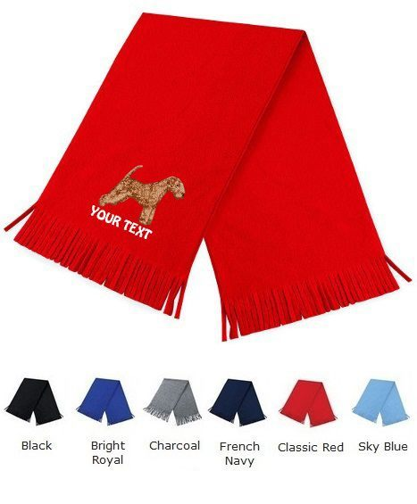 Lakeland Terrier Personalised Scarfs