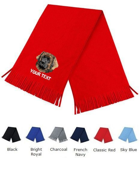 Leonberger Personalised Scarfs