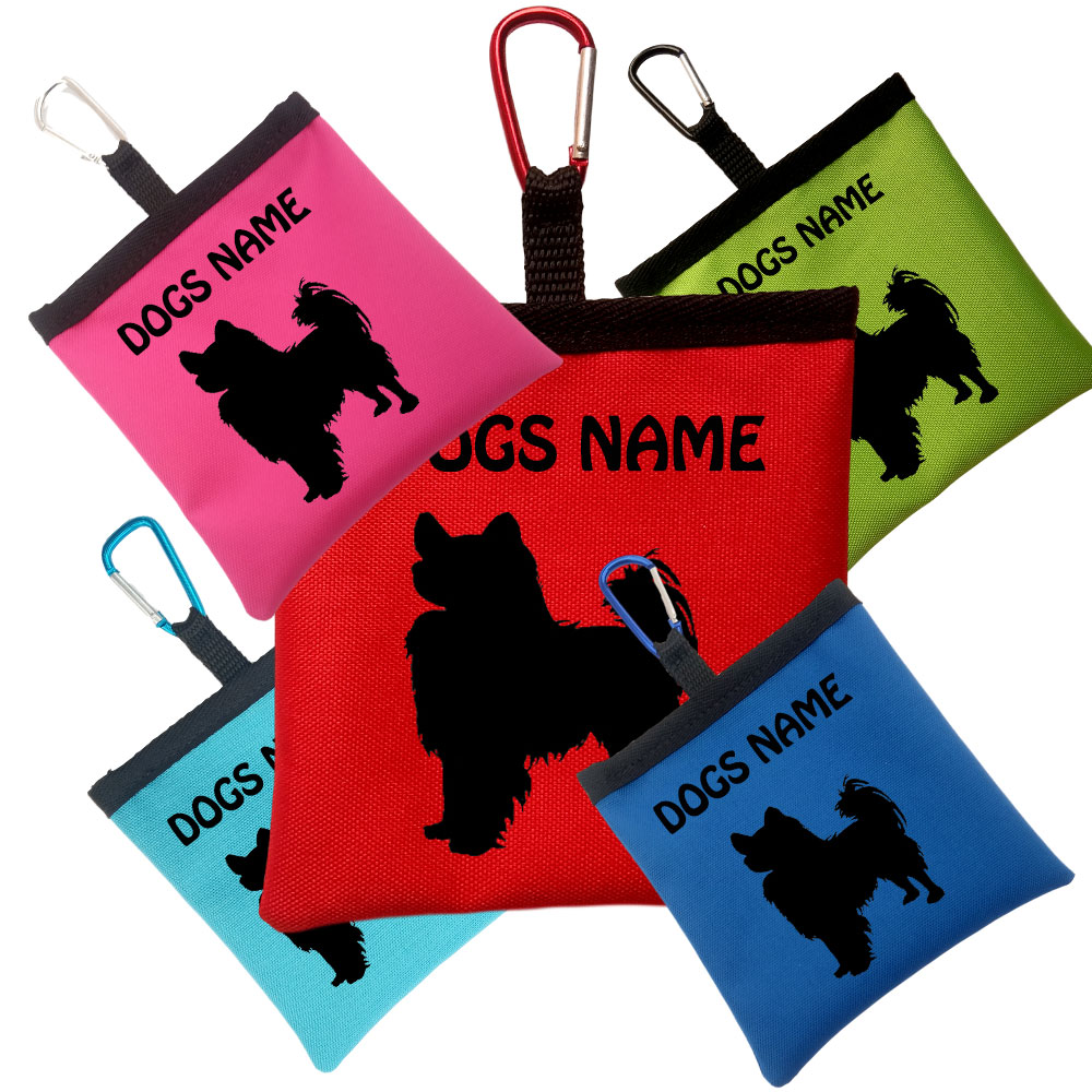 Papillon Personalised Dog Training Treat Bags