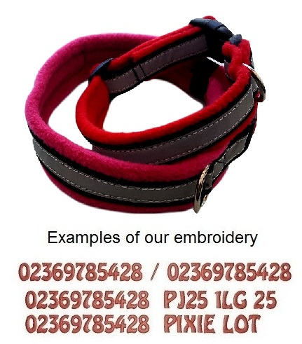Personalised Dog Collars Reflective