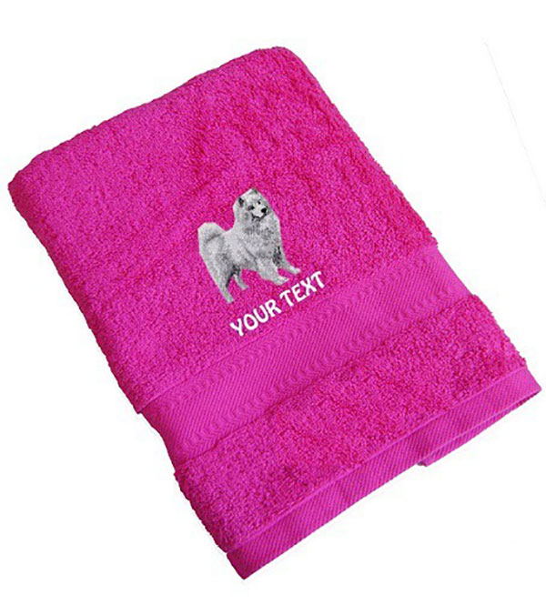 Samoyed Personalised Dog Towels