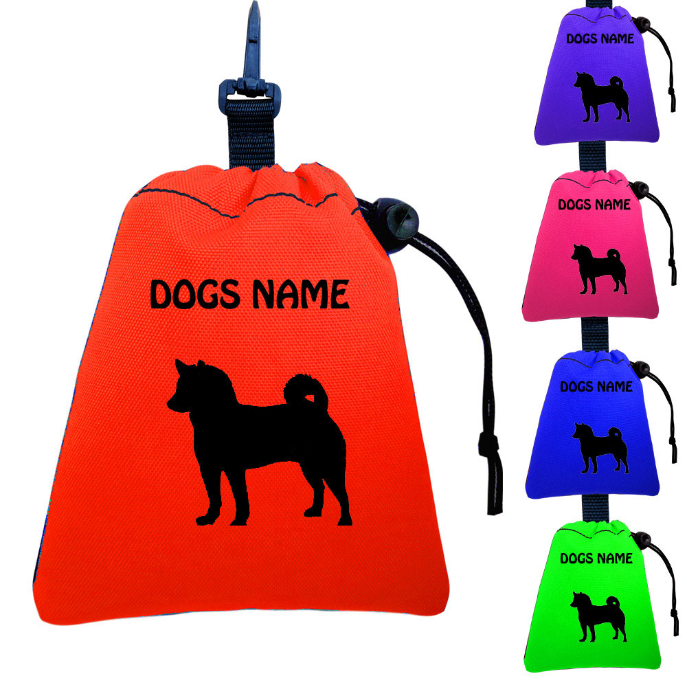 Shiba Inu Personalised Dog Training Treat Bags