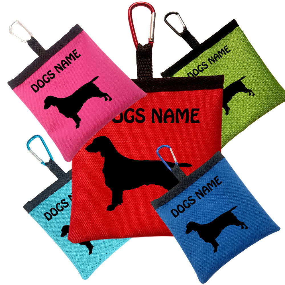 Welsh Springer Spaniel Personalised Dog Training Treat Bags
