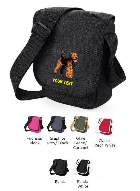 Welsh Terrier Personalised Bags