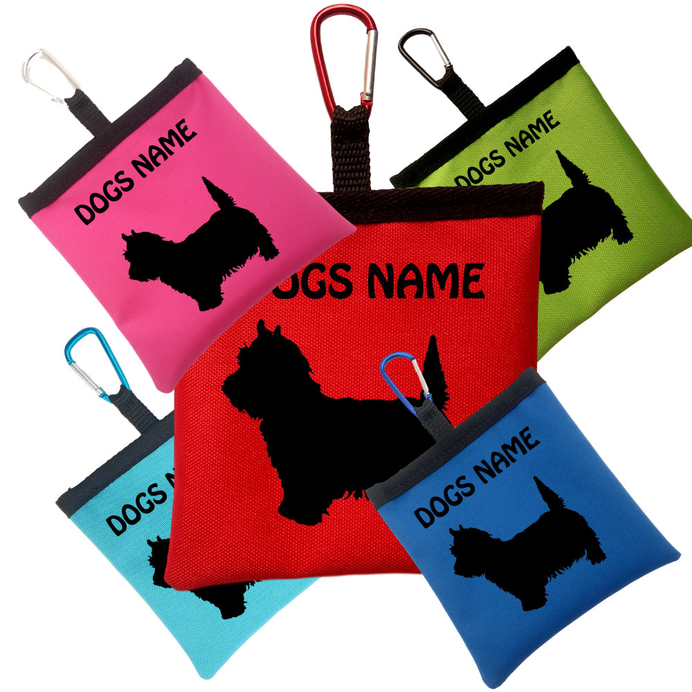 West Highland White Terrier Personalised Pooh Bag Holders