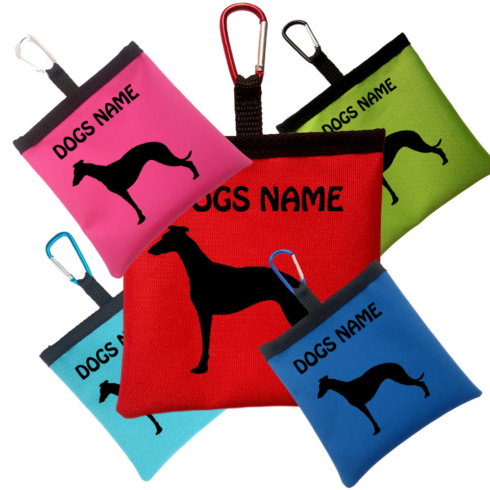 Whippet Personalised Pooh Bag Holders