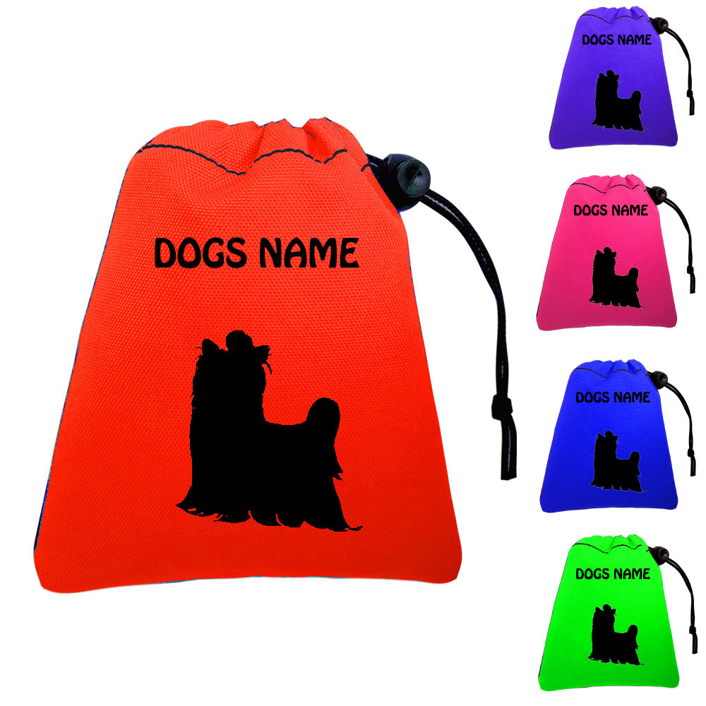 Yorkshire Terrier Personalised Dog Training Treat Bags