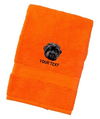 Affenpinscher Personalised Dog Towels Luxury Range - Face Cloth