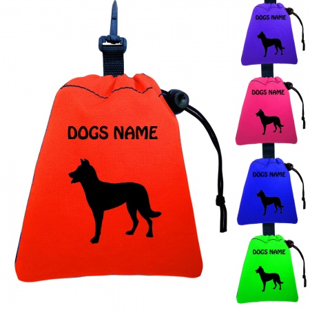 Beauceron Personalised Training Treat Bags - Clips To Dog Lead