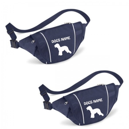 Bedlington Terrier Personalised Special Offer Bumbag - Printed