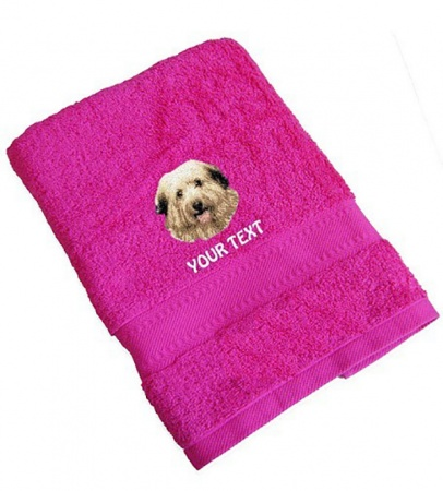 Berger Des Pyrenees Personalised Dog Towels Standard Range