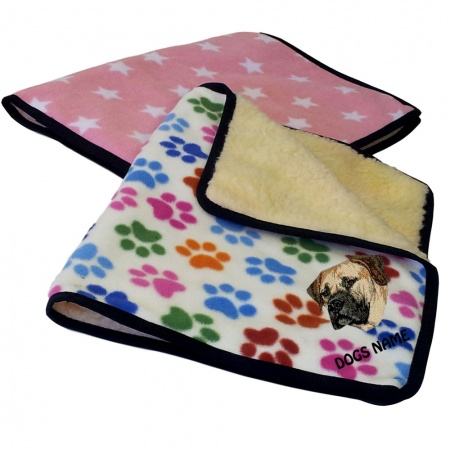 Boerboel Personalised Luxury Fleece Dog Blankets Designer Prints