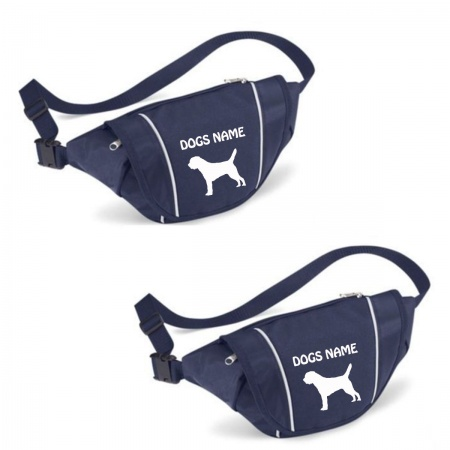 Border Terrier Personalised Special Offer Bumbag - Printed