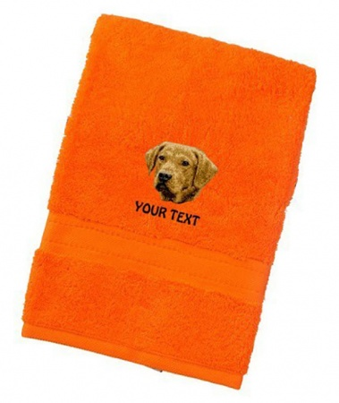 Chesapeake Bay Retriever Personalised Dog Towels Luxury Range - Face Cloth