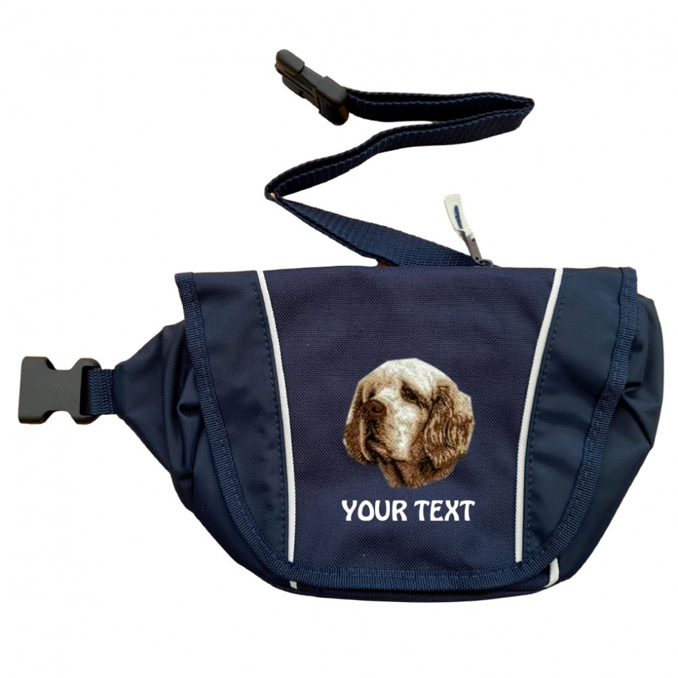 Clumber Spaniel Personalised Special Offer Bumbag