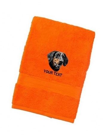 Doberman Personalised Dog Towels Luxury Range