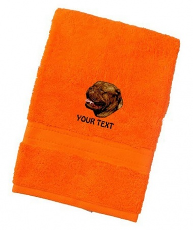 Dogue de Bordeaux Personalised Dog Towels Luxury Range