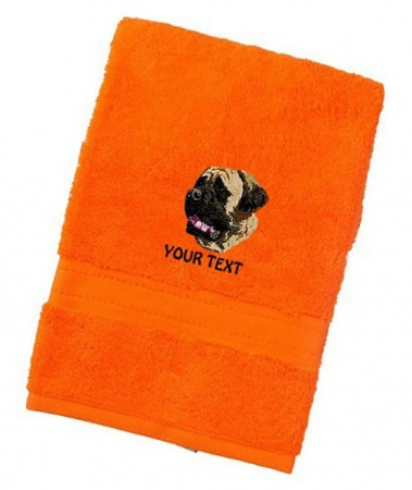 English Mastiff Personalised Dog Towels Luxury Range