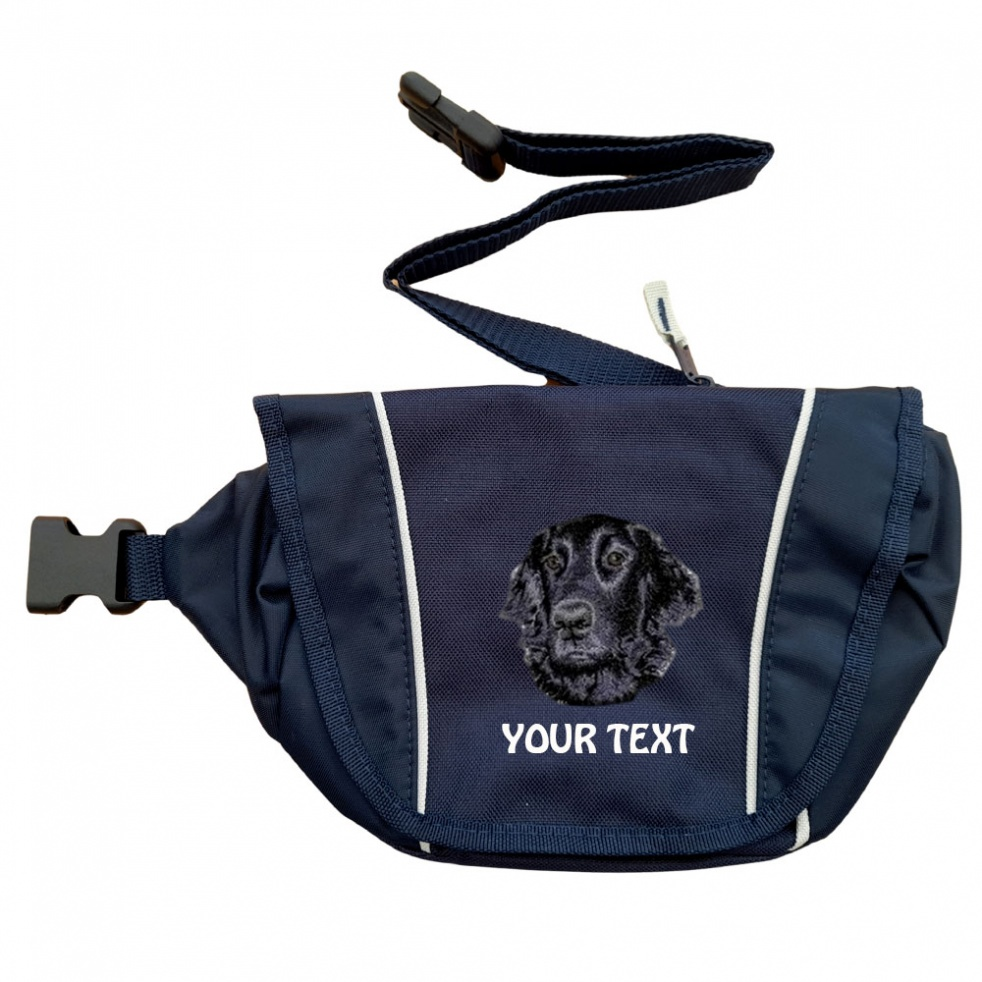 Flat Coated Retriever Personalised Special Offer Bumbag