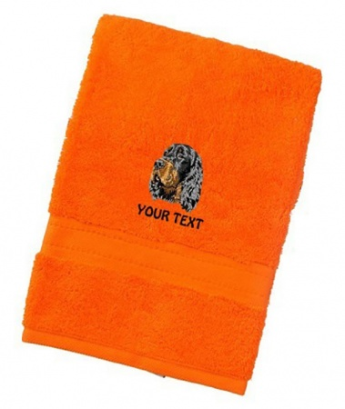 Gordon Setter Personalised Dog Towels Luxury Range - Face Cloth