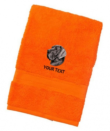 Great Dane Personalised Dog Towels Luxury Range - Face Cloth
