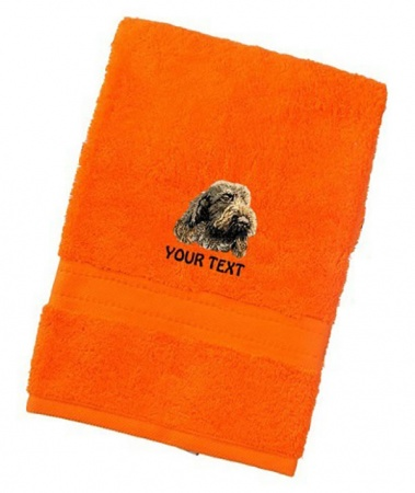 Italian Spinone Personalised Dog Towels Luxury Range