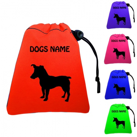 Jack Russell Personalised Dog Training Treat Bags - Pocket Version