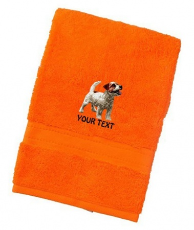 Jack Russell Terrier Personalised Dog Towels Luxury Range