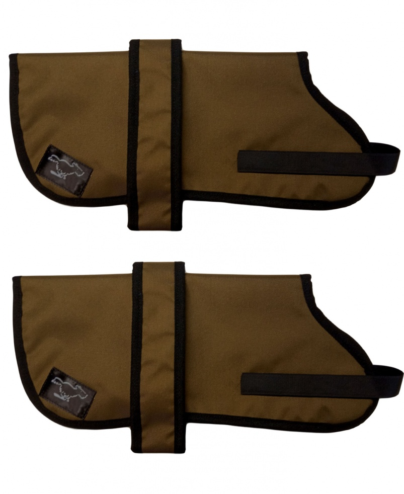 Italian Spinone Personalised Waterproof Dog Coats | Khaki