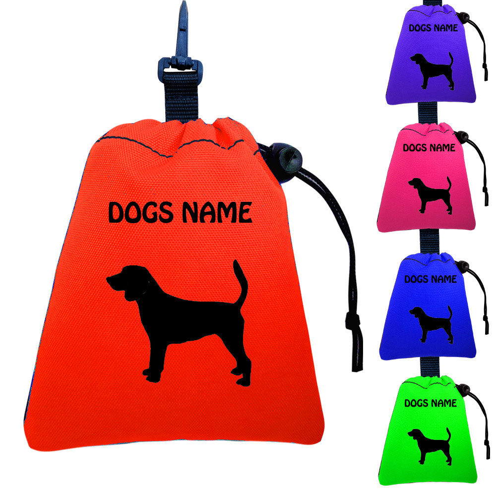 Beagle Personalised Training Treat Bags - Clips To Dog Lead
