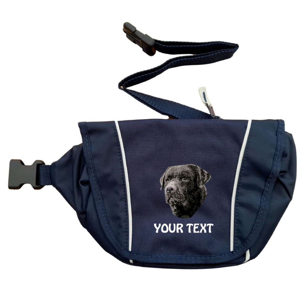 Black Labrador Retriever Personalised Special Offer Bumbag