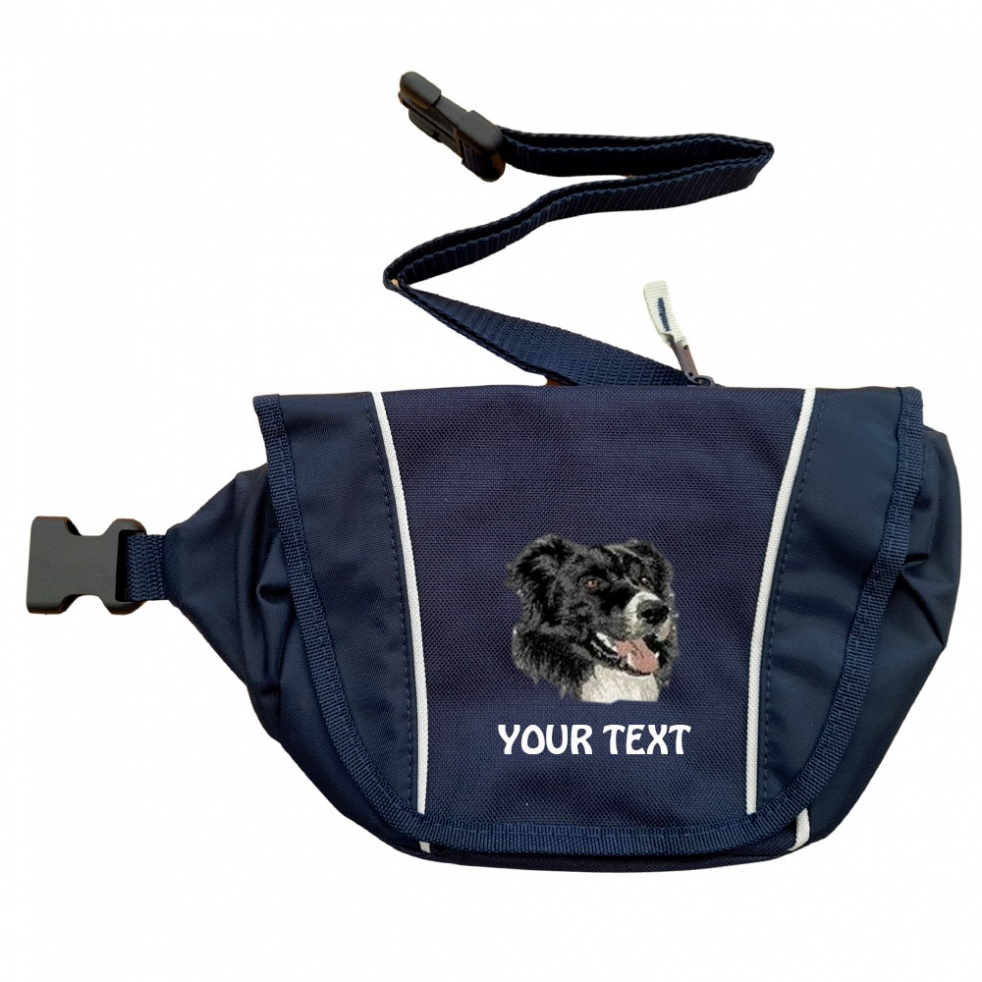 Border Collie Personalised Special Offer Bumbag